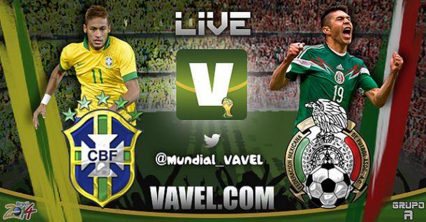 Live Brasile - Messico, Mondiali Brasile 2014 in diretta