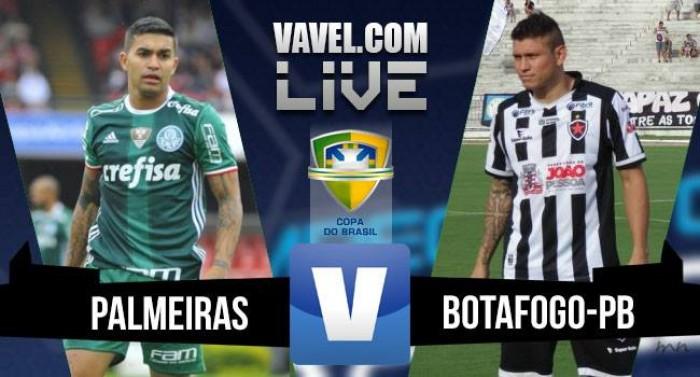 Palmeiras vence o Botafogo-PB pela Copa do Brasil (3-0)