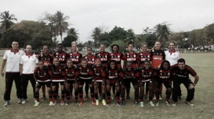 Flamengo goleia Vila Nova e elimina jogo de volta na Copa do Brasil Feminina