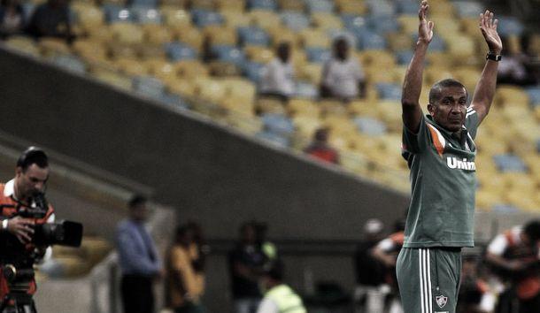 """Cristóvão Borges exalta atuação do Fluminense contra o São Paulo: """"Maravilhosa"""""""