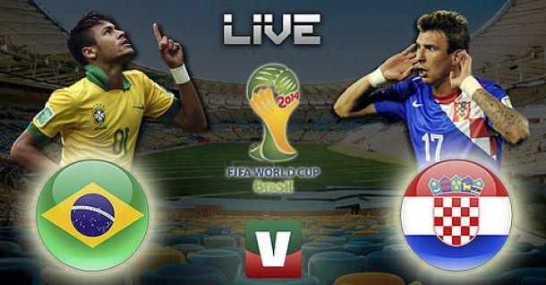 Brasil x Croácia, Copa do Mundo