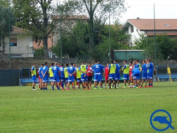 Pescara, la probabile formazione in vista dell'Inter: Aquilani favorito su Brugman