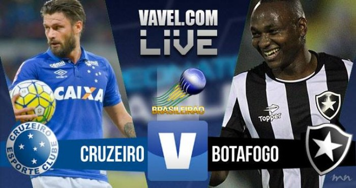 Resultado Cruzeiro x Botafogo no Campeonato Brasileiro 2016 (0-2)
