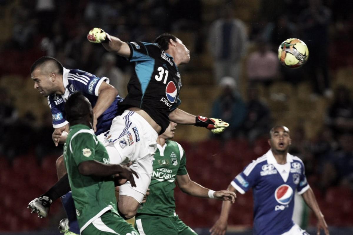Historial Deportivo Cali vs. Millonarios: leve superioridad verde