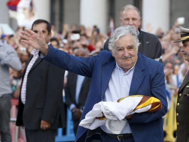 José Mujica se despide de la presidencia de Uruguay