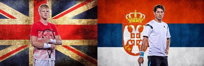 Copa Davis: Sérvia e Grã-Bretanha enfrentam-se sem principais expoentes