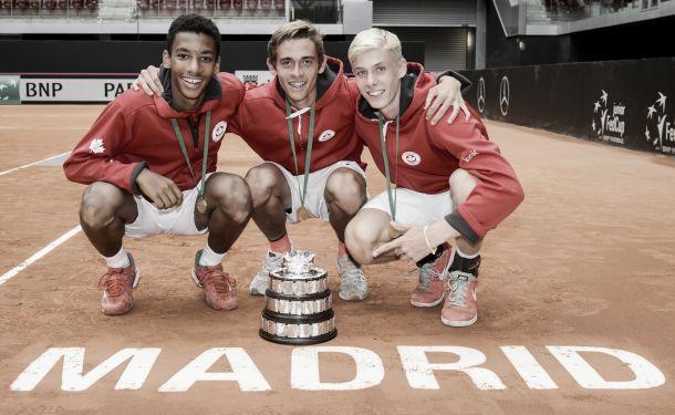La Copa Davis junior se va para Canadá