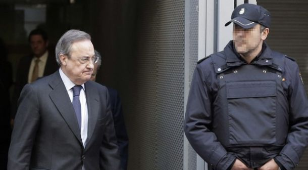 Florentino Pérez declaró como testigo en la 'Operación Púnica'