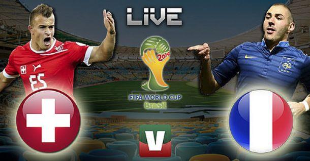 Copa do Mundo 2014: França - Suiça (2-5)