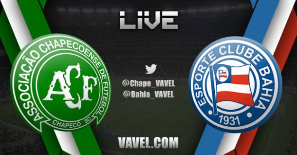 Resultado e gols Chapecoense x Bahia no Campeonato Brasileiro 2017 (1-1)