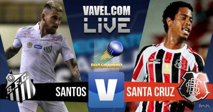 Santos vence o Santa Cruz no Campeonato Brasileiro (3-2)