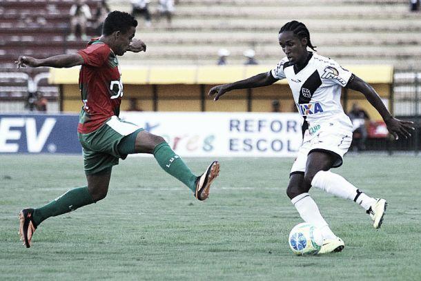 Com gol polêmico anulado no fim, Vasco e Portuguesa apenas empatam