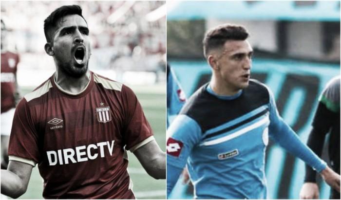 Matías Suárez y Lucas Viatri, dos delanteros para tener en cuenta