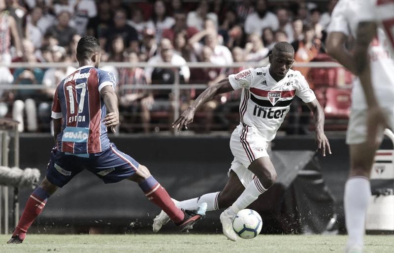 Melhores momentos São Paulo x Bahia pela Copa do Brasil 2019 (0-1)