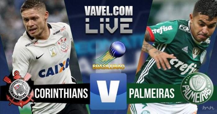 Corinthians perde para o Palmeiras no Campeonato Brasileiro (0-2)