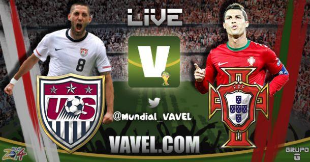 Estados Unidos x Portugal   pela Copa do Mundo 2014