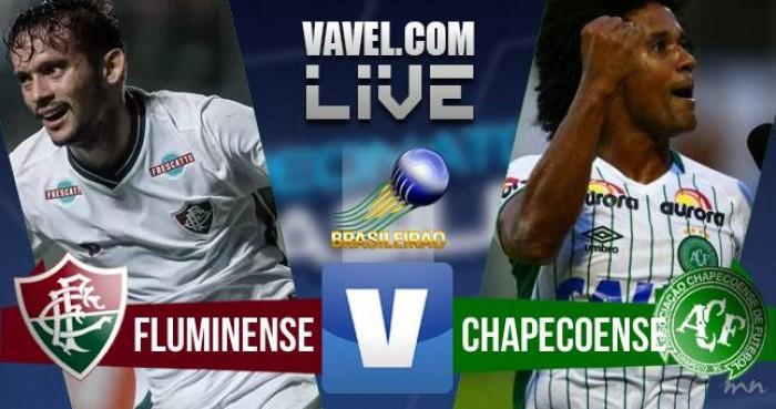 Resultado Fluminense x Chapecoense no Brasileirão 2016 (1-2)