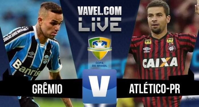Resultado Grêmio 0x1 Atlético-PR na Copa do Brasil (4-3 pênaltis)