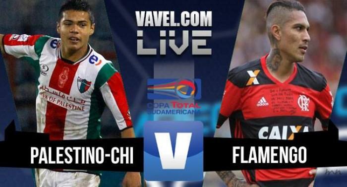 Resultado Palestino x Flamengo pela Copa Sul-Americana 2016 (0-1)