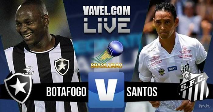 Resultado Botafogo x Santos no Campeonato Brasileiro 2016 (0-1)
