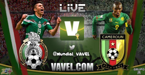 Live Messico - Camerun in partita dei Mondiali 2014