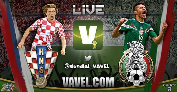 Live Croazia - Messico, Mondiali 2014 in diretta