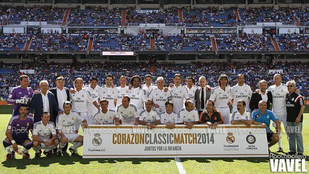 Fotos e imágenes del Real Madrid Leyendas - Inter Forever en el Corazón Classic Match