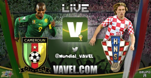 Cameroon - Croatia Score and Text Commentary 2014 FIFA World Cup | VAVEL.com