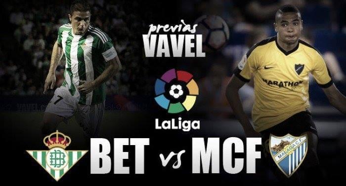 Real Betis - Málaga CF: misma situación, misma necesidad