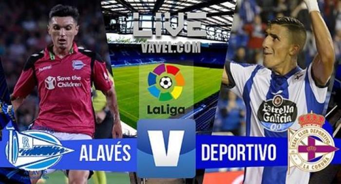 Alavés vs Deportivo de la Coruña en vivo y en directo online (0-0)