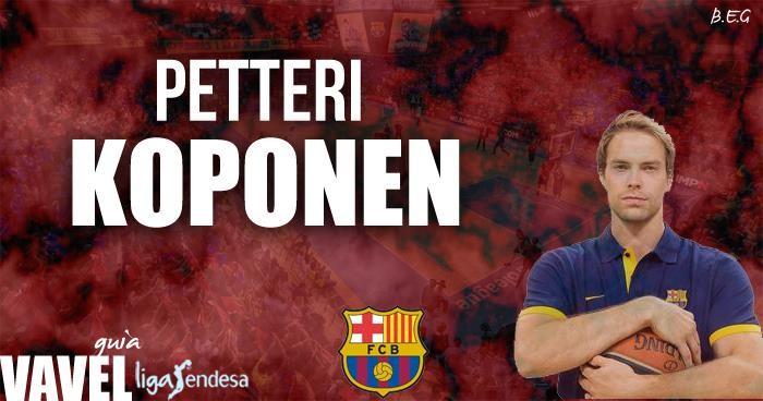 FC Barcelona Lassa 2016/17: Petteri Koponen, el escudero fiel