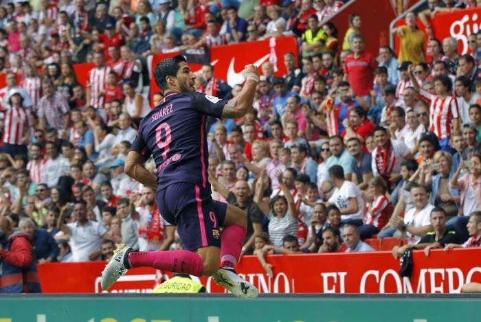 Liga, il Barcellona stravince anche senza Messi: 0-5 allo Sporting Gijon