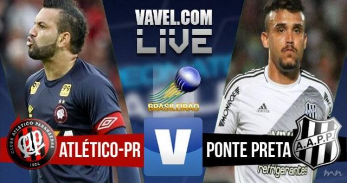 Resultado Atlético-PR 3x0 Ponte Preta no Campeonato Brasileiro 2016