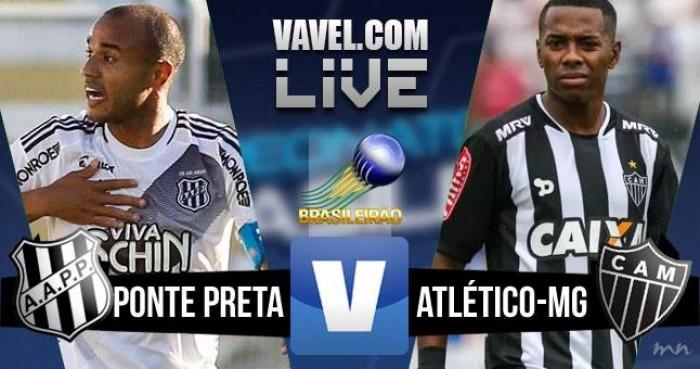 Resultado Ponte Preta x Atlético-MG no Campeonato Brasileiro 2016 (1-2)