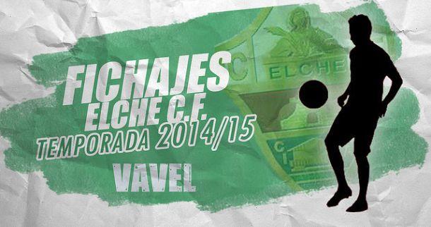 Fichajes del Elche CF temporada 2014/2015 en directo