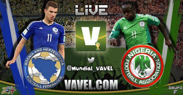Live Nigeria - Bosnia, Mondiali 2014 in Diretta