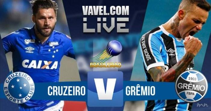 Resultado Cruzeiro x Grêmio no Campeonato Brasileiro 2016 (1-0)