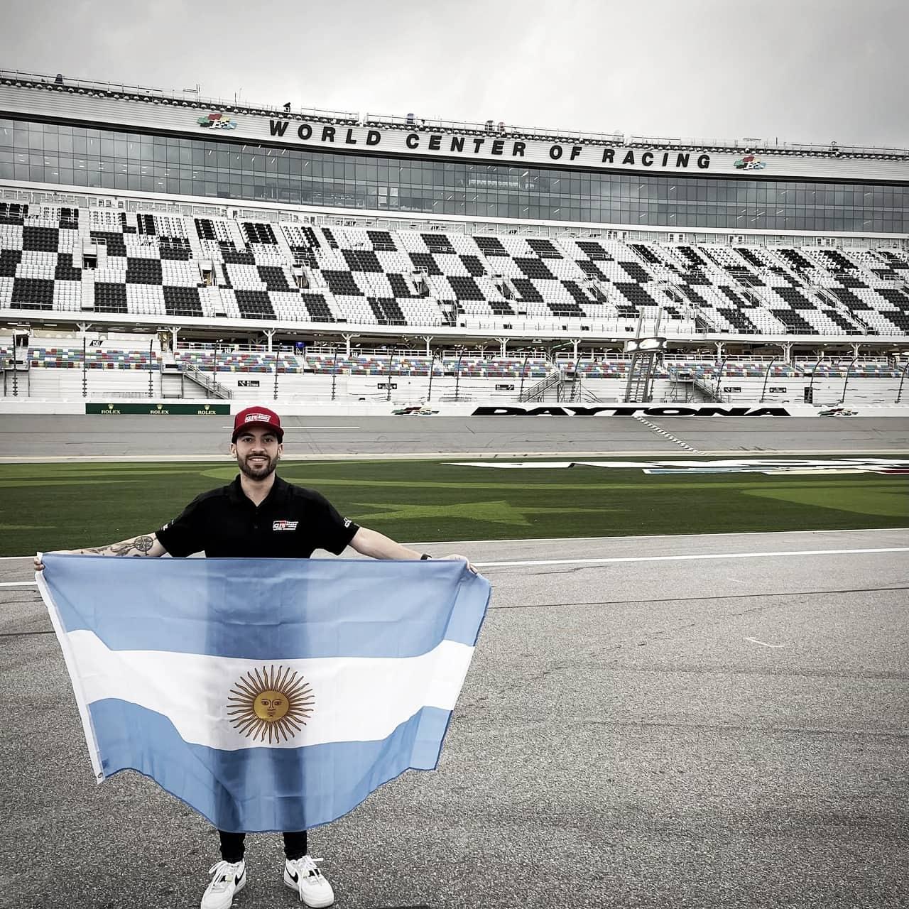 Santero pisó fuerte en Daytona
