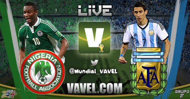 Live Nigeria - Argentina, Mondiali Brasile 2014 in Diretta