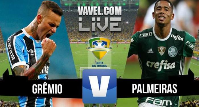 Resultado Palmeiras 1x1 Grêmio na Copa do Brasil