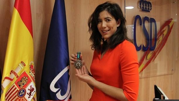 Garbiñe Muguruza Awarded With Bronze Medal Of Royal Order Of Sports Merit