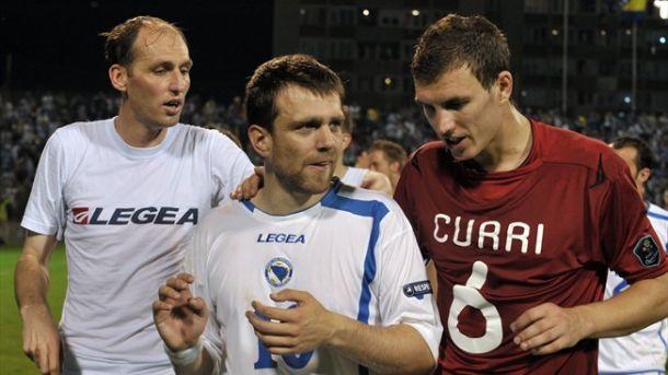 La Bosnie a dévoilé son groupe pour la Coupe du Monde