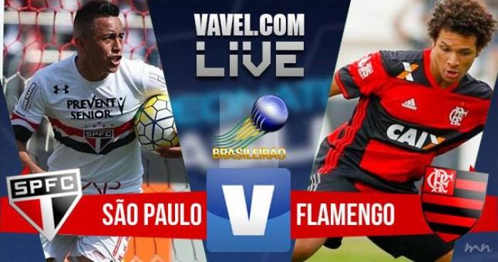 Resultado São Paulo x Flamengo (0-0)