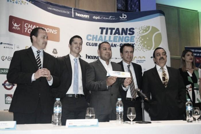 Titans Challenge llega a México; reunirá a tenistas históricos retirados