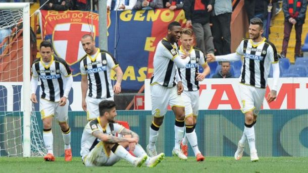 L'Udinese che non ti aspetti, buon punto a Genova