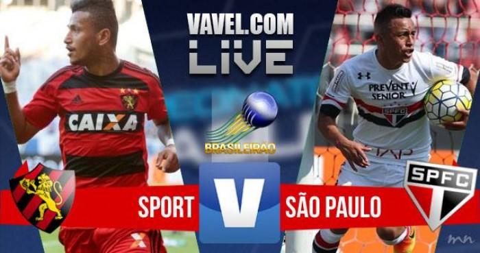 Sport empata com o São Paulo pelo Campeonato Brasileiro 2016 (1-1)