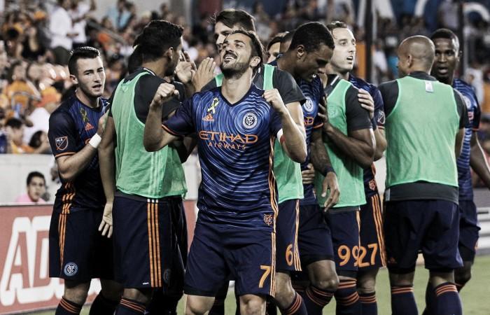 Villa double sends New York top