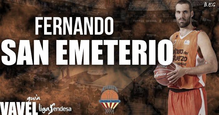 Valencia Basket 2016/17: Fernando San Emeterio