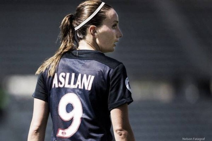 Asllani interested in England's FAWSL after leaving PSG