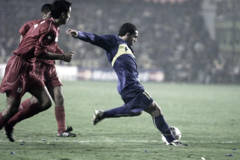 Boca goleaba en Colombia y accedía a la final